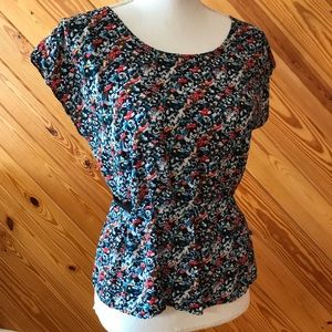 Urban Outfitters Kimchi Blue Floral Top